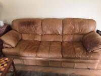 3 leater leather sofa