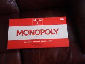 Orignal 1973 monoply board