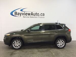 2016 Jeep CHEROKEE LTD- LEATHER! ADAPTIVE CRUISE! BSA! LKS! FCW!