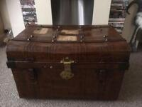 1920s travel trunk