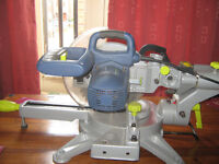 challenge xtreme sliding mitre saw with laser guide