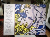 Canvas Print Roy Lichtenstein 80x60 cm - Brixton Clapham