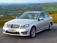 2011 Mercedes-Benz C220 CDi Blu-Efficiency 2.1 CDi 7-speed Geartronic with just 28,000 Miles.