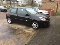 Renault CLIO 1.4 Petrol 06 Plate 6 Week M.O.T Full Service history L@@k