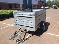 trailer THULE Brenderup 1205 XL,with Extension Side Kit