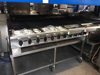 Garland Grill/Char Broiler 11 Burner Natural Gas 1.5m Wide
