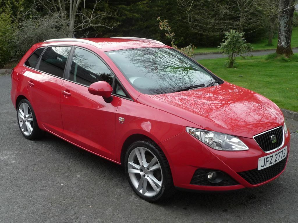 2011 seat ibiza sport tourer st estate 5 door 1 6tdi. Black Bedroom Furniture Sets. Home Design Ideas