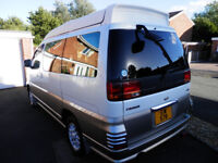 Nissan Elgrand Campervan 1999 Exported to UK in 2008, Pop up Roof, 11 Months MOT, Beautiful Cond