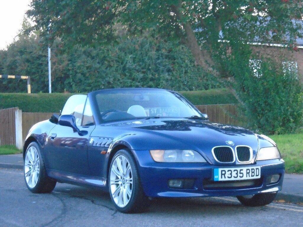 BMW Z3 1.9 2dr, FULL SERVICE & MOT,LOVELY CAR 1998 (R reg