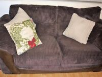 Lovely DFS 2 Seater Sofa in Chocolate Brown