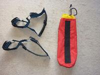 Pony Cylinder Cambands and pony bag