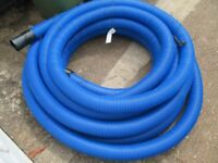 110/94mm blue flexi twin wall ducting with draw cord for mains water pipe