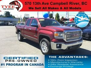 2014 GMC Sierra 1500 SLT 4x4 Rear Camera Leather Heated Seats