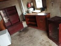 Free display cabinet and tall boy unit