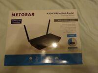 Netgear N300 WiFi Modem Router Model D1500