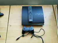 PS3 console and 24 games
