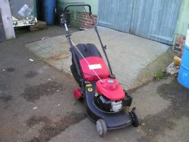 Honda / Mountfield self propelled petrol mower in good condition