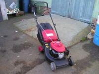 Honda / Mountfield self propelled petrol mower in good condition