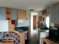 Caravan for hire Crimdon Dene. 3 Bedroom. Available long or short term November - March 2018