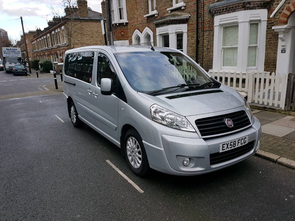 8 Seater Family Car Fiat Scudo Panorama 2008
