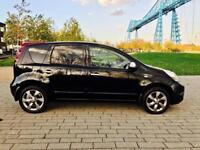 NISSAN NOTE 1.6 N-TEC 5d 110 BHP LOW RATE FINANCE FOR ALL CRED (black) 2011