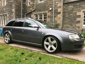 UNIQUE 7-seater Audi RS6 4.2 litre - fastidiously maintained. The ultimate family car.