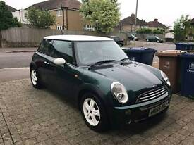 Mini Cooper 1.6 (55 plate) brand new tyres, exhaust and serviced