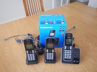 Telephone trio set