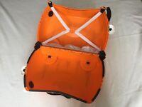 Used orange Tiger Trunki