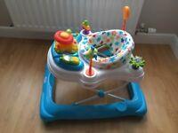 Brand new Babylo twist about baby walker