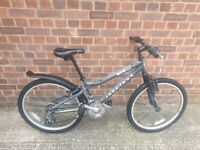 "Ridgeback MX24 24"" Mountain bike Bicycle Charcoal grey good condition and fully working"