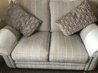 DFS 2 seater sofa & 1 matching Arm Chair barely used condition