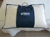 Genuine Tempur memory foam pillow