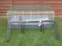 RABBIT CAGE INDOOR WITH STAND £25