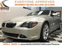 2005 BMW 645 Cabriolet Beautiful Inside Out Low Km! *Everyone A