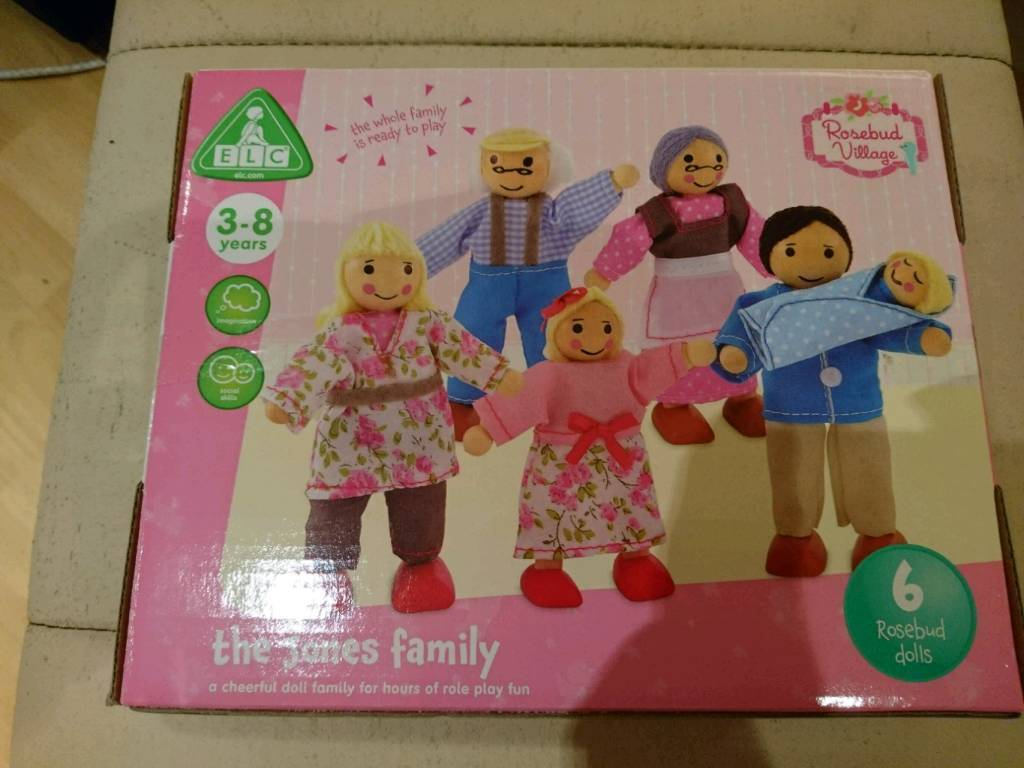 BNIB Early learning centre Rosebud dolls house toy jones family accessories figures people