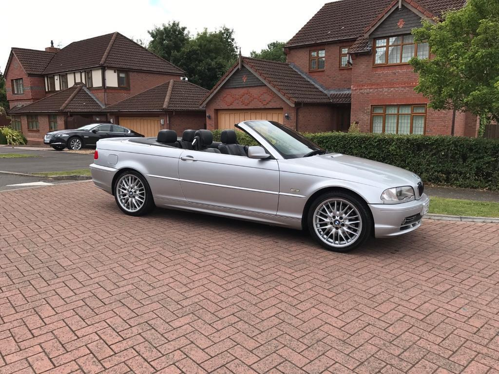 Bmw e46 330ci convertible Manual with history