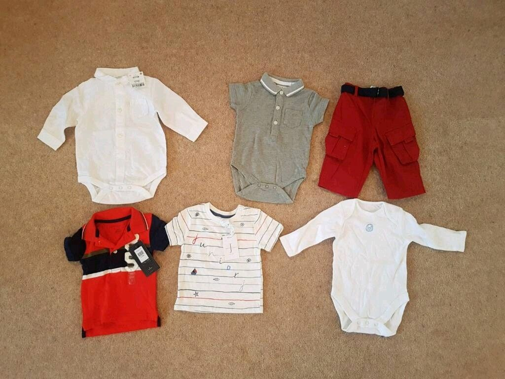 9b97c4d2a8cb1 JOB LOT - 3-6 MONTH BABY BOY DESIGNER CLOTHES - BRAND NEW WITH TAGS | in  North West London, London | Gumtree