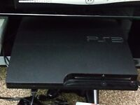 PlayStation 3 320GB with 2 gamepads and 2 motion controllers and fun for all the family