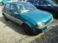 Ford fiesta 1.2 green short mot