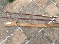 Sea trout fly fishing rod Hand built using 3 piece Grey's blank Nice rod Rated aftm 8