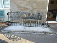 Drive way metal gates
