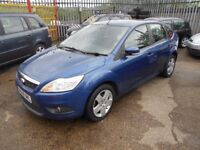 ford focus 1.8 tdci 115 style,5dr 2008 facelift model,full mot on purchase,service history,£135 tax
