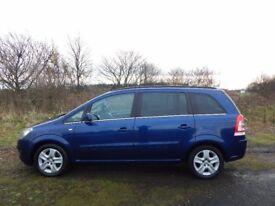 2010 / 59 Vauxhall Zafira 1.6 i VVT 16v Exclusive