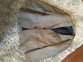 Stunning boys grey suit jacket 8-9 years