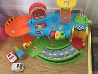 Vetch toot toot garage with 3 cars