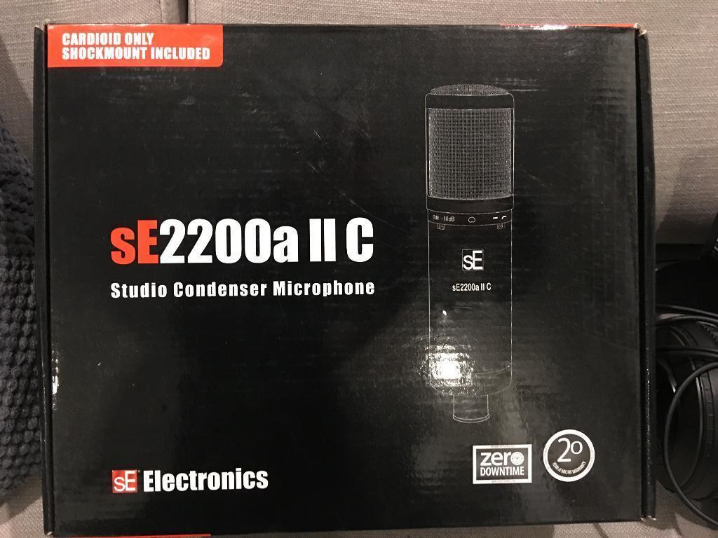 SE2200a mk2 condenser mic