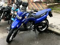 ***BLUE SUZUKI DR SM125***2009*** LOW MILEAGE***OFF ROADER***4 OWNERS