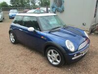 MINI COOPER 2001 51 1.6 LTR PETROL MOT MAY 2018 FULL SERVICE HISTORY EXCELLENT CONDITION!!!