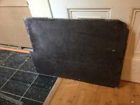 2 large slabs of slate, originally a fireplace hearth